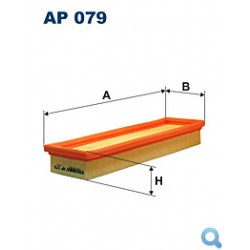 Filtr powietrza FILTRON AP 079