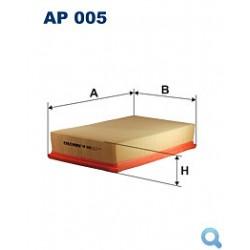 Filtr powietrza FILTRON AP 005